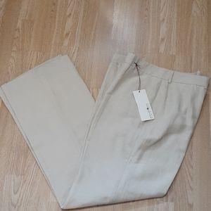 Linen silk Bernard Zins trouser pants Paris France